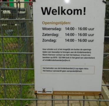 Kinderboerderij weer volledig geopend